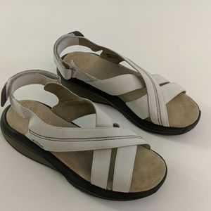 MBT white women's sandals size 9